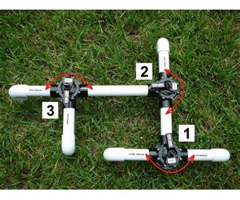 set  pool diverter valves   basic pool