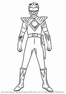 Learn How to Draw Green Ranger from Power Rangers (Power ...
