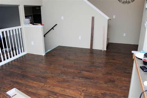 modern homestead diy laminate wood flooring project