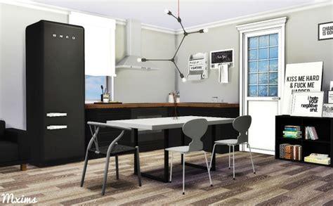 scandinavian dining room  mxims sims  updates
