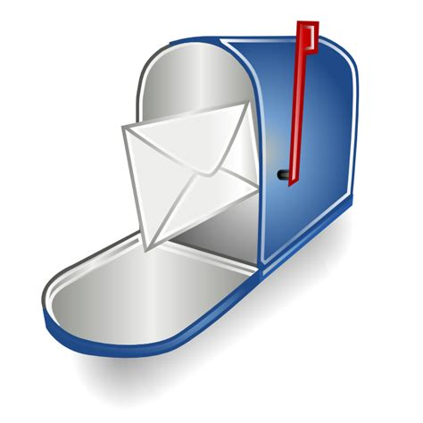 mailbox icon transparent mailbox icons free icons in rrze icon search engine