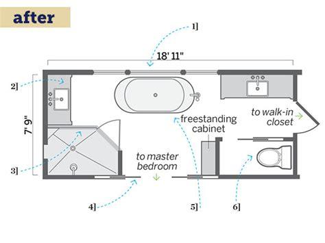 Long Narrow Bathroom Floor Plans  Dma Homes #85769