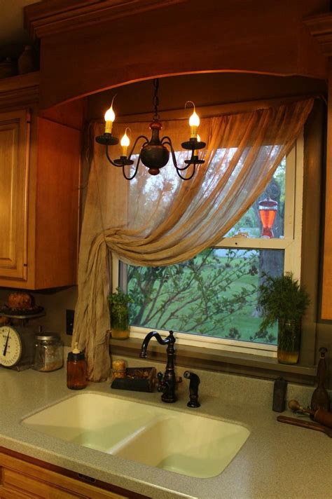 country valances for kitchen primitive cheesecloth curtains primitive 6239