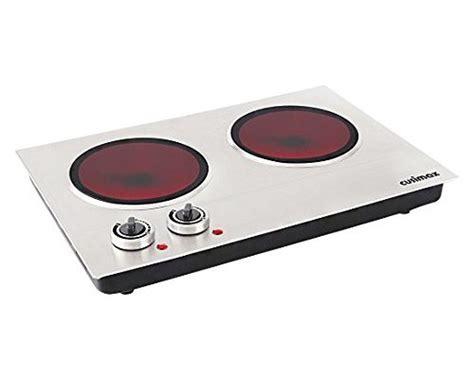 Cusimax Cmip-c180 1800w Infrared Cooktop, Ceramic Double