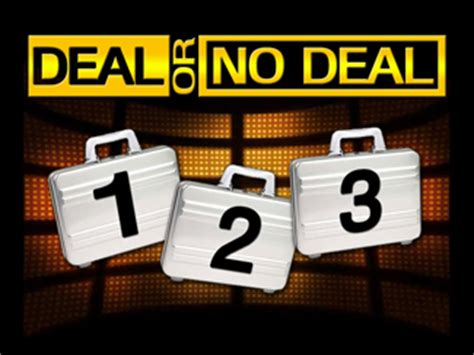 Deal Or No Deal Powerpoint Template by Pastor Garry S Sermon Library For And Other Tablet