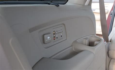 Honda Odyssey Touring Elite Auxiliary Audio Inputs And