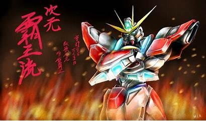 Gundam Digital Build Works Try Fighters Wallpapers