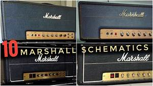 The 10 Most Classic Marshall Amp Schematics Are This