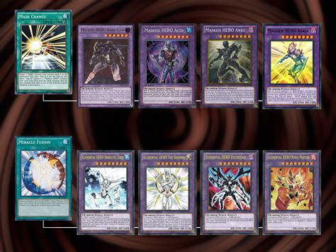 How To Build An Elemental Hero Yu Gi Oh! Gx Deck 7 Steps