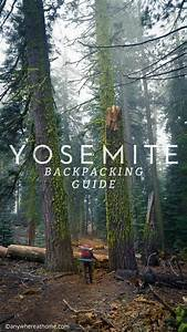 Yosemite National Park Backpacking Guide America The