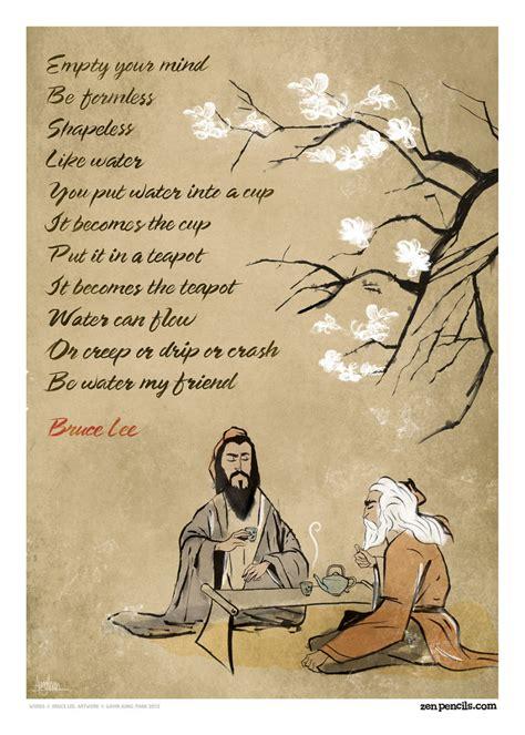 quotes inspirational cartoons famous zen into bruce lee pencils adapted panda