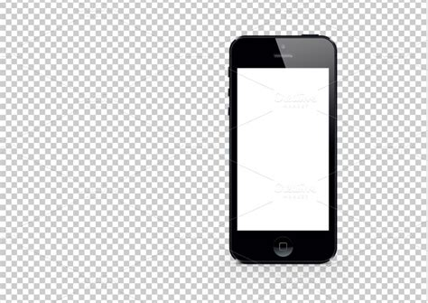 black iphone  mockup template templates  creative market
