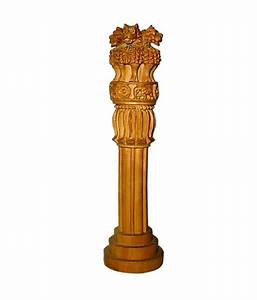 Uniglobe National Emblem of India 8 Inches Handcrafted