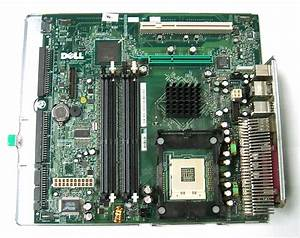 Dell X1078 Optiplex Gx270 Dhs Socket 478 Motherboard  With Metal