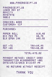 top 10 free online receipt generator to create custom receipts