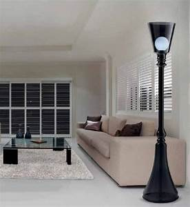 indoor post lamps bring street lights inside your home With lamp post light indoor