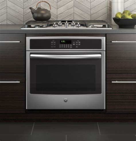 microwave gas range ge 30 quot built in single convection wall oven jt5000sfss