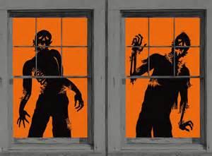 Zombie Halloween Decoration Window