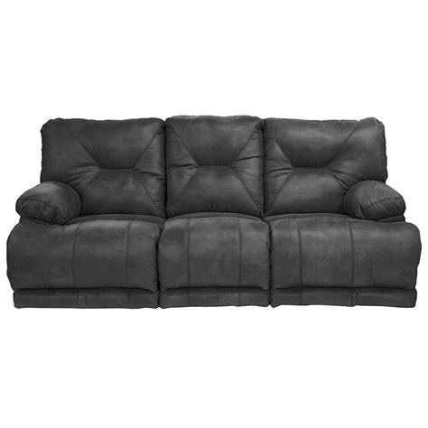 flat sofa catnapper voyager power reclining lay flat sofa