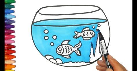 gambar mewarnai anak ikan