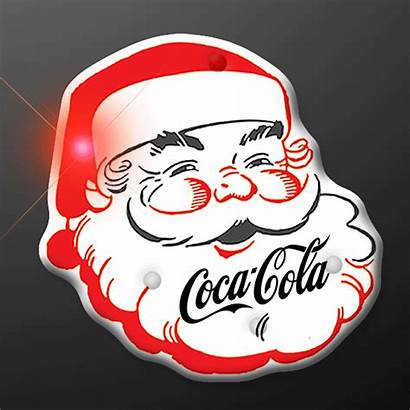 Santa Claus Christmas Led Blinking Cola Coca