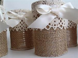 burlap lace wedding reception decor rustic weddings With lace decorations for wedding