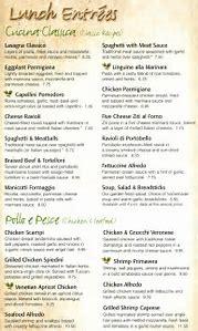 olive garden menu pdf - Olive Garden Menu Pdf