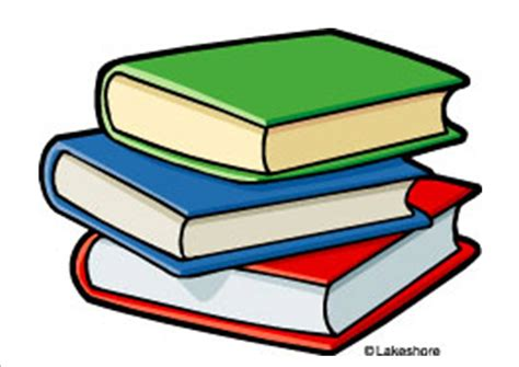 Cartoon Stack Of Books Clipart 2