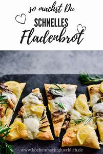 Schnelles Abendessen Für Gäste : schnelles fladenbrot mit zitrone mozzarella und sardinen ~ Markanthonyermac.com Haus und Dekorationen