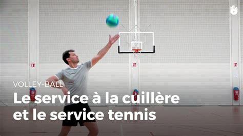 service  la cuillere  service tennis volley ball