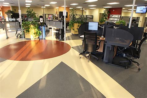 Mondo Rubber Flooring Harmoni by Canadian Government Offices Mondo
