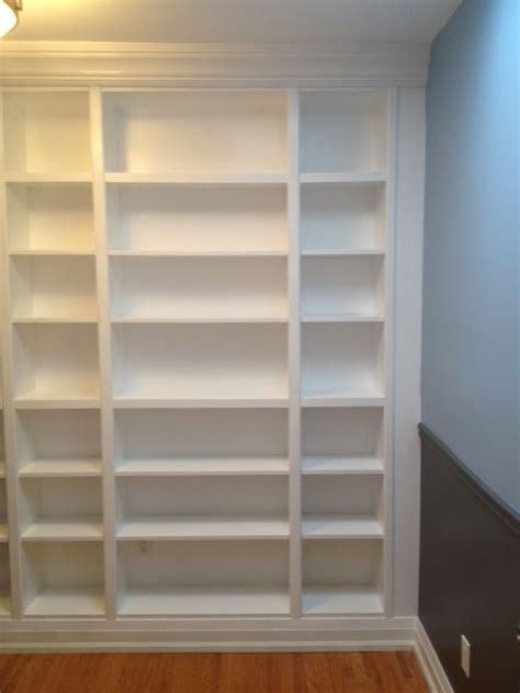 how to build a built in bookcase with doors very detailed instructions on how to turn ikea billy