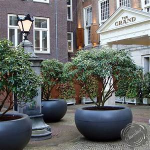 XXL Commercial Planter: Extra Large Round Planter Box ...