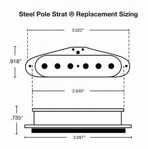 Fralin Steel Pole 43 Guitar Pickups