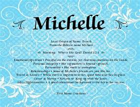 Michelle Name Meaning