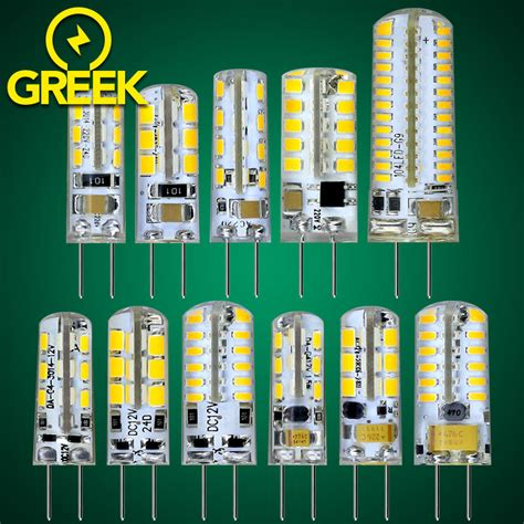 10pcs lot led g4 smd3014 3w 6w dc 12v led l replace 10w