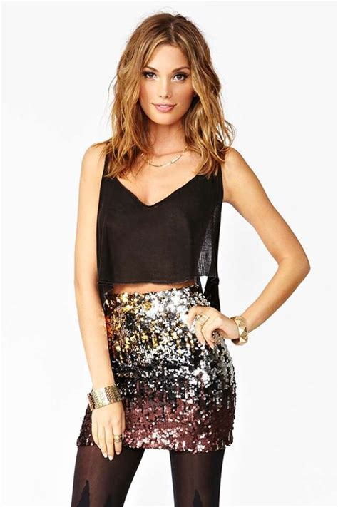 Perfect New Years Eve Party Skirt Clothing Pinterest