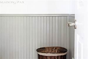 Tips for Painting Wainscoting - Maison de Pax