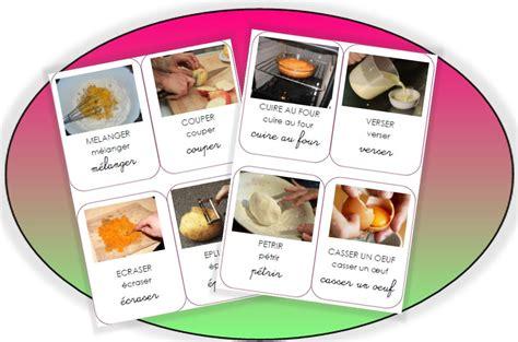 cuisine maternelle les actions en cuisine pépinette à l 39 ecole lexique et