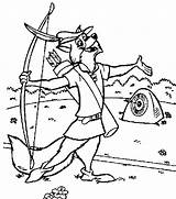 Robin Hood Coloring Pages sketch template