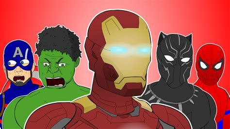 avengers animated songs  video compilation youtube