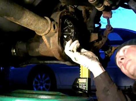 jeep grand cherokee zj front diff removal youtube