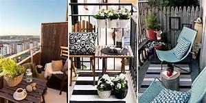 Salon Pour Balcon : nos id es d co pour votre balcon ou terrasse ~ Teatrodelosmanantiales.com Idées de Décoration