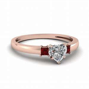 large selection of 14k rose gold three stone engagement With marble wedding ring