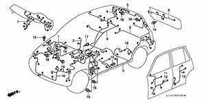 Wire Harness For 1998 Honda Cr
