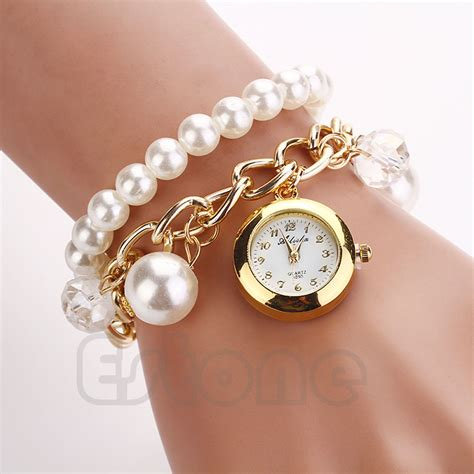 Fashion Women Faux Pearl Rhinestone Chain Bracelet Round. Anklets For Girls. Side Stone Engagement Rings. T Bar Earrings. Round Diamond Eternity Band. Antique Stud Earrings. Hammered Gold Band. Formal Watches. Floating Charm Bangle Bracelet