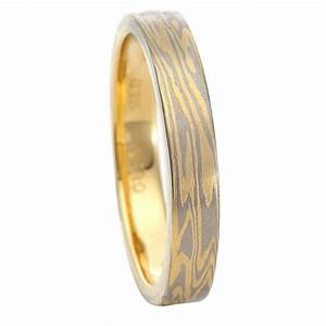 aponi mokume wood eye grain ring With wood grain wedding rings