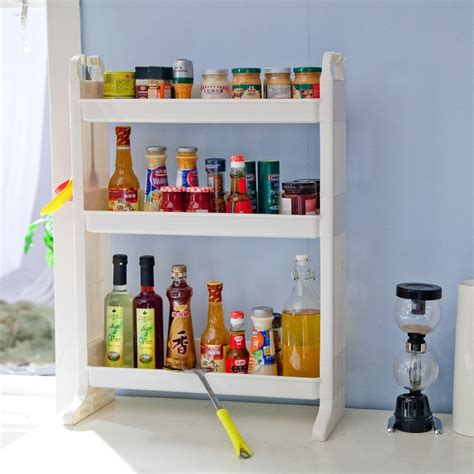 Free Standing Spice Rack by Free Standing 3 Tier Herb Spice Rack Storage Spice
