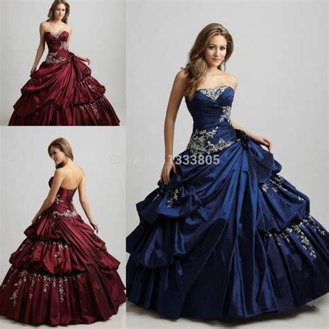 Popular Dark Red Quinceanera Dresses   Quincenera dresses ...