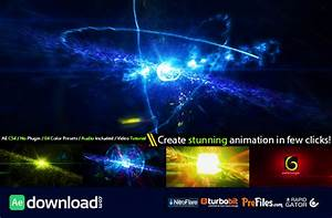 cinematic space particles explosion logo intro videohive With after effects cs4 intro templates free download
